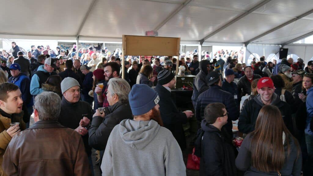 St. Joe Winter Beer Fest Tent