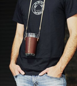 The Perfect Beer Holder for Bacon Bash