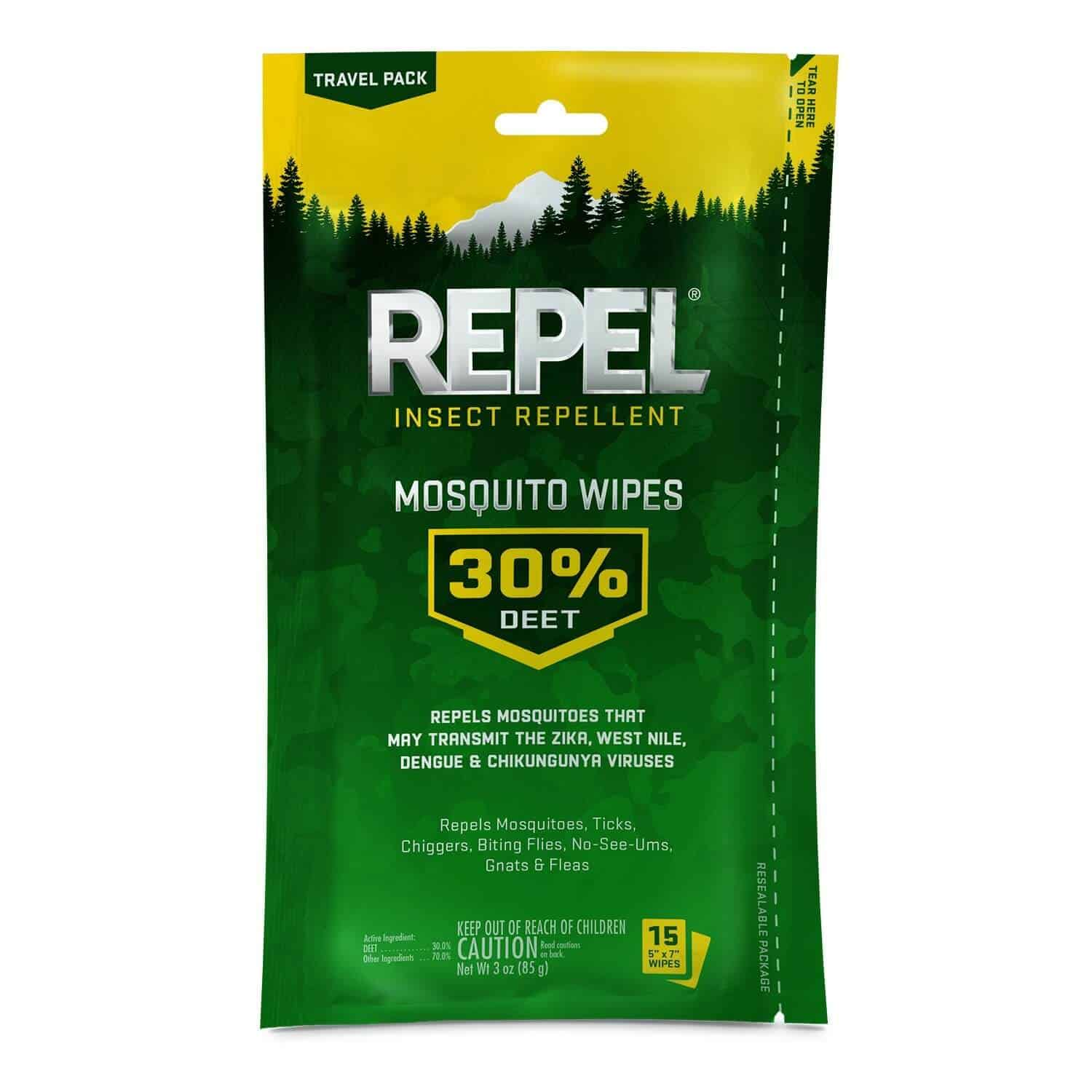 mosquito repellent wipes